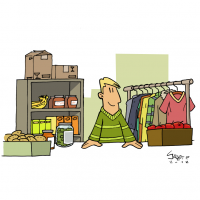 Aides alimentaires et matérielles